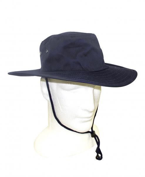 Custom Broad Brimmed Hat Embroidery Cotton Double Brims Bucket Cap Pressing Line